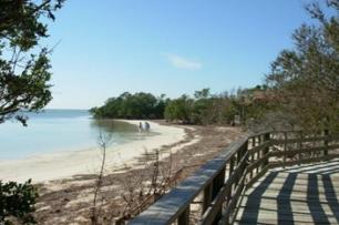 Boardwalk At Annes Beach
