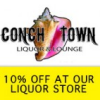 Conch Town Bar Card