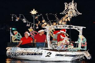 Christmas In Florida Keys.Boat Parade Florida Keys Christmas Event Viewing Locations