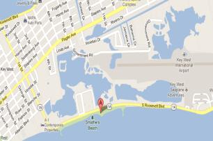 Smathers Beach Map