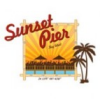 Sunset Pier Bar Card