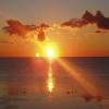 Sunrise at White Sands Inn