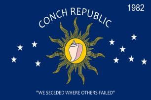 The Flag Of The Conch Republic