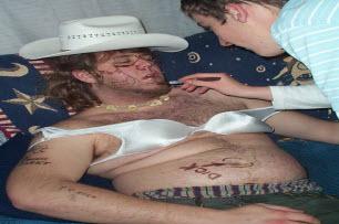 Drunk Man In Hat