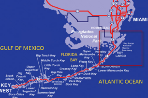 Holiday Inn Key Largo Map
