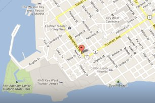 Key West Lighthouse Map