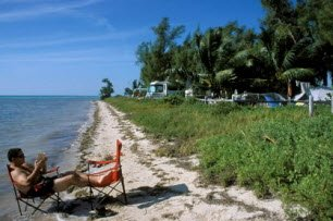Long key state park camp rv site in long key florida keys guide long key state park sciox Choice Image
