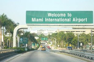 how to get from miami airport to key west